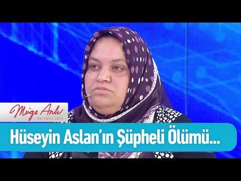 Hüseyin Aslan'ın şüpheli ölümü - Müge Anlı ile Tatlı Sert 19 Mart 2019