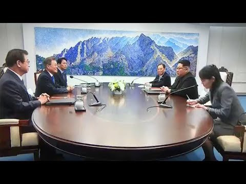 Moon Kim meeting begins with denuclearization high on agenda