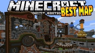 best redstone map in 0 15 0 mcpe rube gold berg map minecraft pe pocket edition