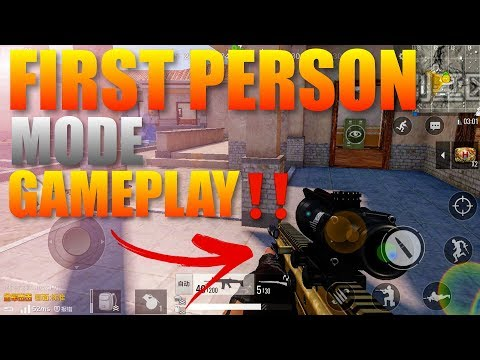 PubG Mobile Update First Person Mode Gameplay ‼️
