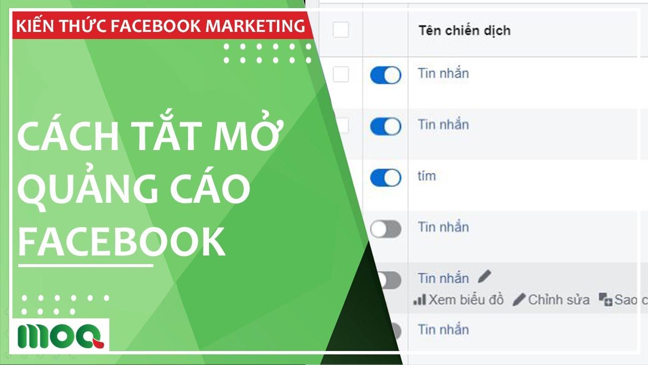 Cách Tắt Dừng Quảng Cáo Fanpage Trên Facebook