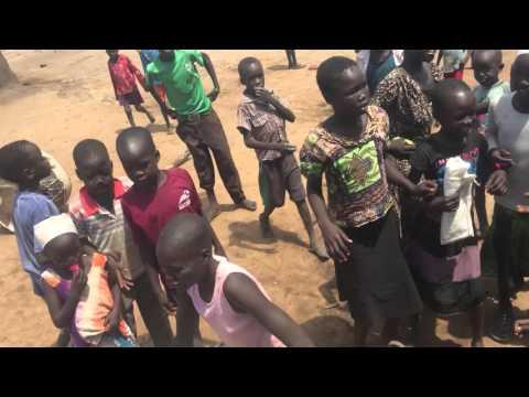 Sudanese refugees in Adjamani