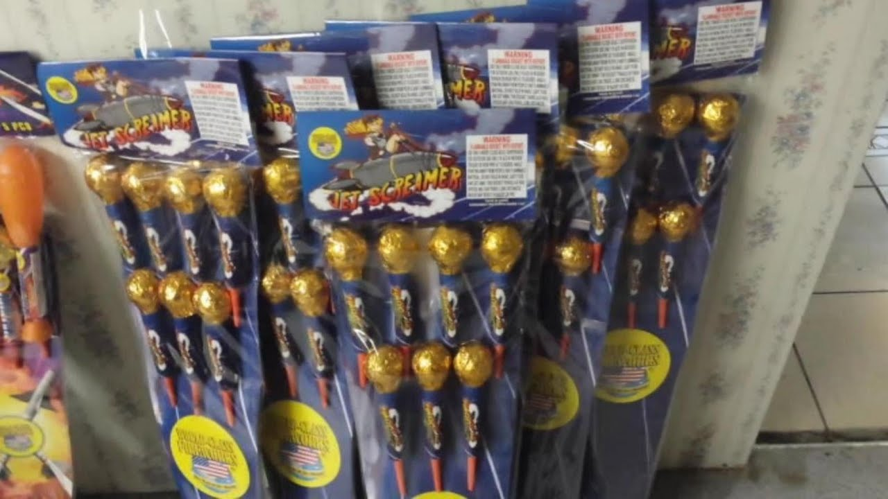 Fireworks Demo (Sky Rockets) -...