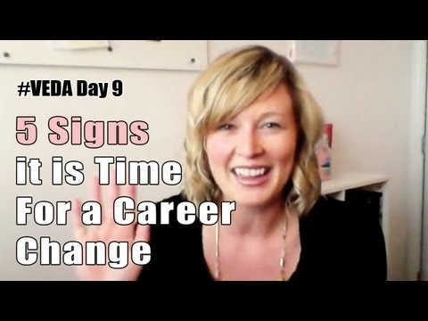 Career Change At 35 - Looking For A New Start? - YouTube 5 Signs it is Time For a Career Change - Duration: 2:15. Classy Career Girl 936 views