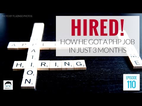 How He Got a PHP Job in 3 Months