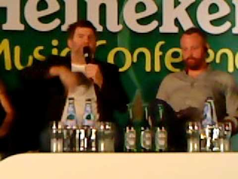 Heineken Music Conference - James Murphy on Performer-audience dynamics
