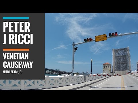 Venetian Causeway - Miami Beach - Re-opens