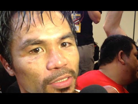 AGGRESSIVE MANNY PACQUIAO THREATENS TO KNOCKOUT JEFF HORN IN 1ST ROUND!