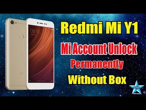 Redmi Y1/Lite Mi Account Remove Miracle | Without Box | Mi MDI6S Mi Account Unlock Tool