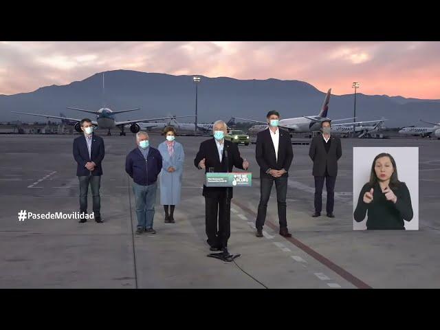 Presidente Piñera anuncia Pase de Movilidad para vacunados contra el COVID-19