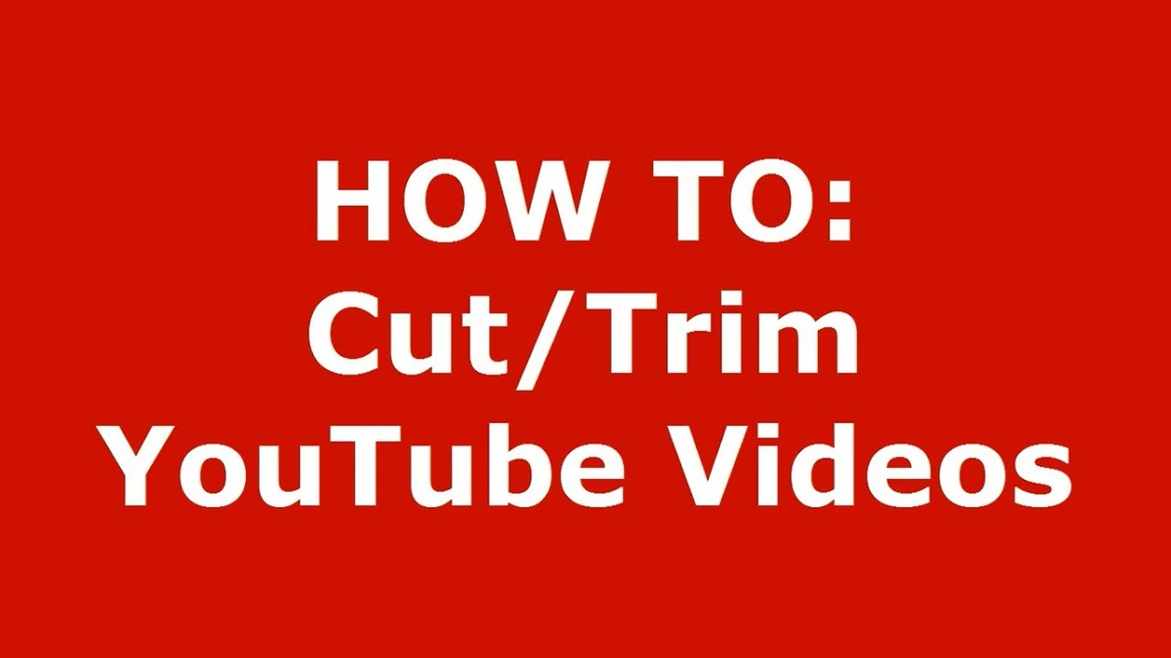 How to cut music from video