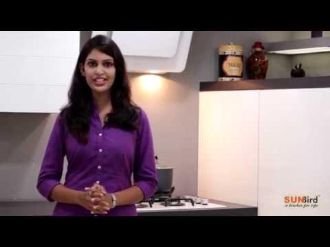 L-Shaped Kitchen Design By Sunbird Kitchens