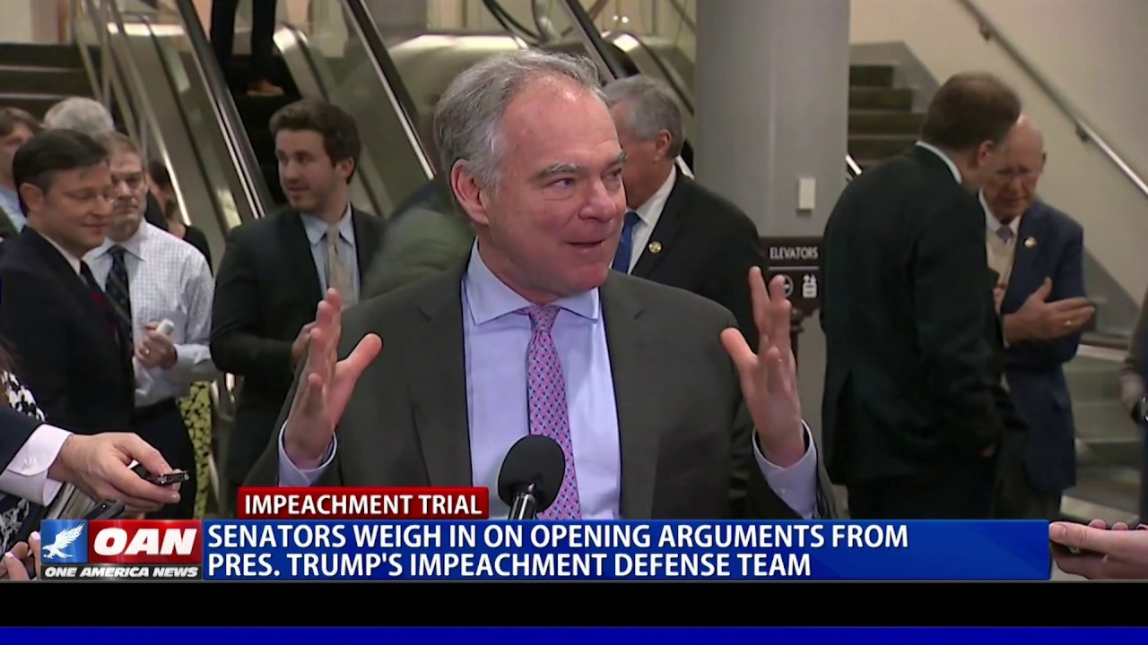 Senators weigh in on opening arguments from President Trump's defense team - OAN