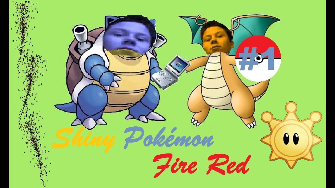 how to catch shiny pokemon fire red