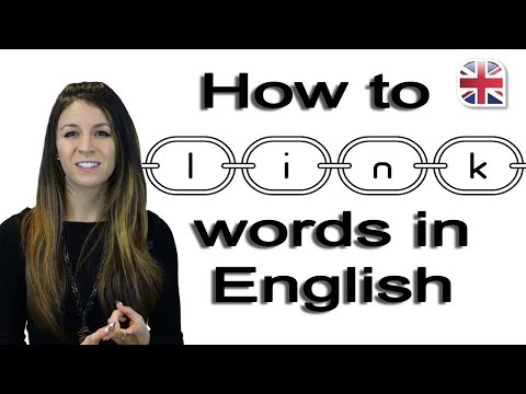 How to Link Words  Speak English Fluently  Pronunciation Lesson