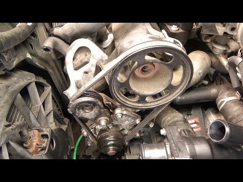 Water pump replacement (2004 Ford Escape) - YouTube