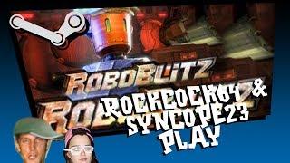 rockcock64 plays roboblitz w/ syncope23