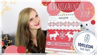 Weleda Adventskalender 2018 | Unboxing + welcher Wert steckt drin?