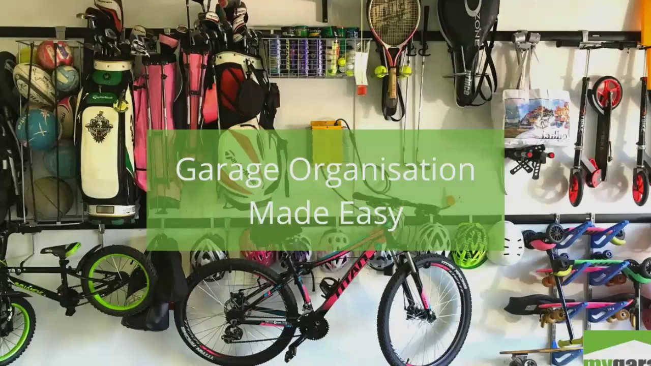 Garage Organisation Made Easy