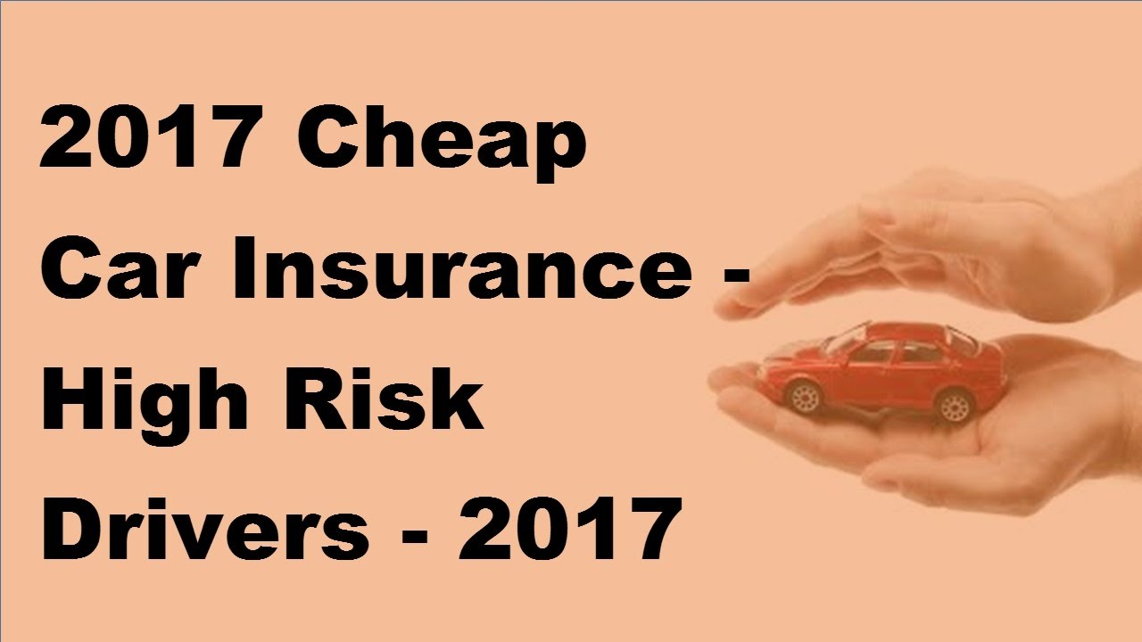 Image Result For Cheap Car Insurance For High Risk Drivers