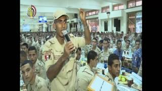 بالفيديو..المتحدث العسكري يرد على
