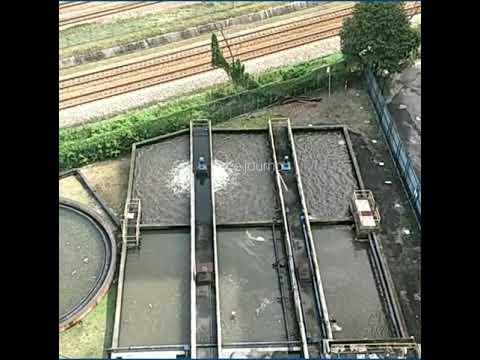 Waste Water Treatment plant , Serdang, Selangor, Malaysia.