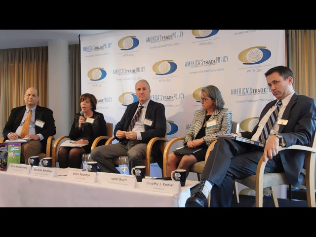1/26/17 Border Adjustment Taxes, Tax Reform and Trade: Panel 2 Part 2