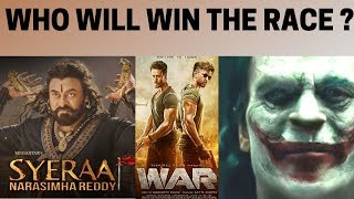 Sye Raa Narasimha Reddy vs War and Joker: Who will win the race? |NewsX