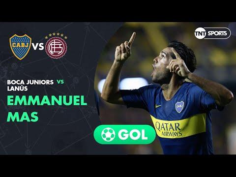 Emmanuel Mas (1-0) Boca Juniors vs Lanús | Fecha 19 - Superliga Argentina 2018/2019