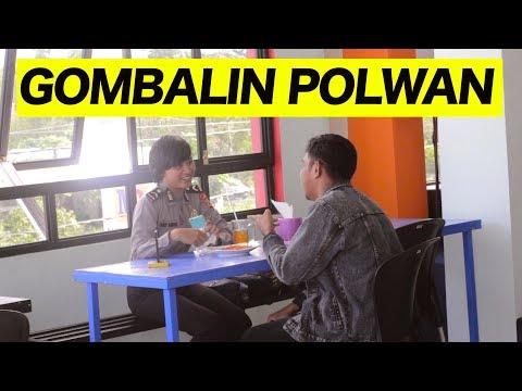 Cover Lagu ASIK GOMBALIN POLWAN CANTIK baper ngga ya - PRANK INDONESIA HITSLAGU