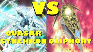 Real Life Yugioh - QUASAR SYNCHRON vs QLIPHORT Casuals October 2014 Format