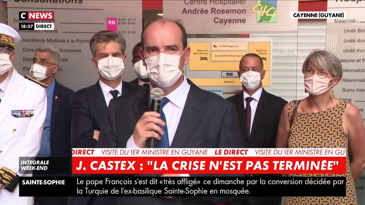 Jean Castex : « Le service public sait faire face dans les grandes circonstances »