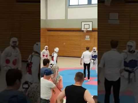 Taekwondo Turnier In Essen Tecteam 8.7.27