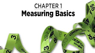 Chapter 1: Measuring Basics