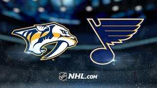 Perron, Allen lead Blues to 4-1 victory over Preds