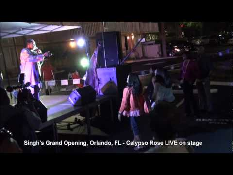 Live at Singh's Orlando - Shazman, Calypso Rose, Leon Coldero and Trini Tassa Group