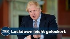 CORONA IN GROSSBRITANNIEN: Mini-Lockerungen für Briten - Ausgangssperre knallhart verlängert