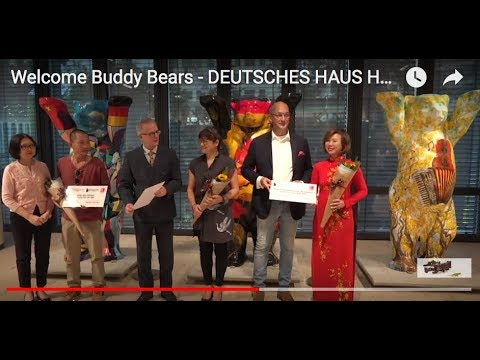 Welcome Berlin Buddy Bears to Deutsches Haus Ho Chi Minh City