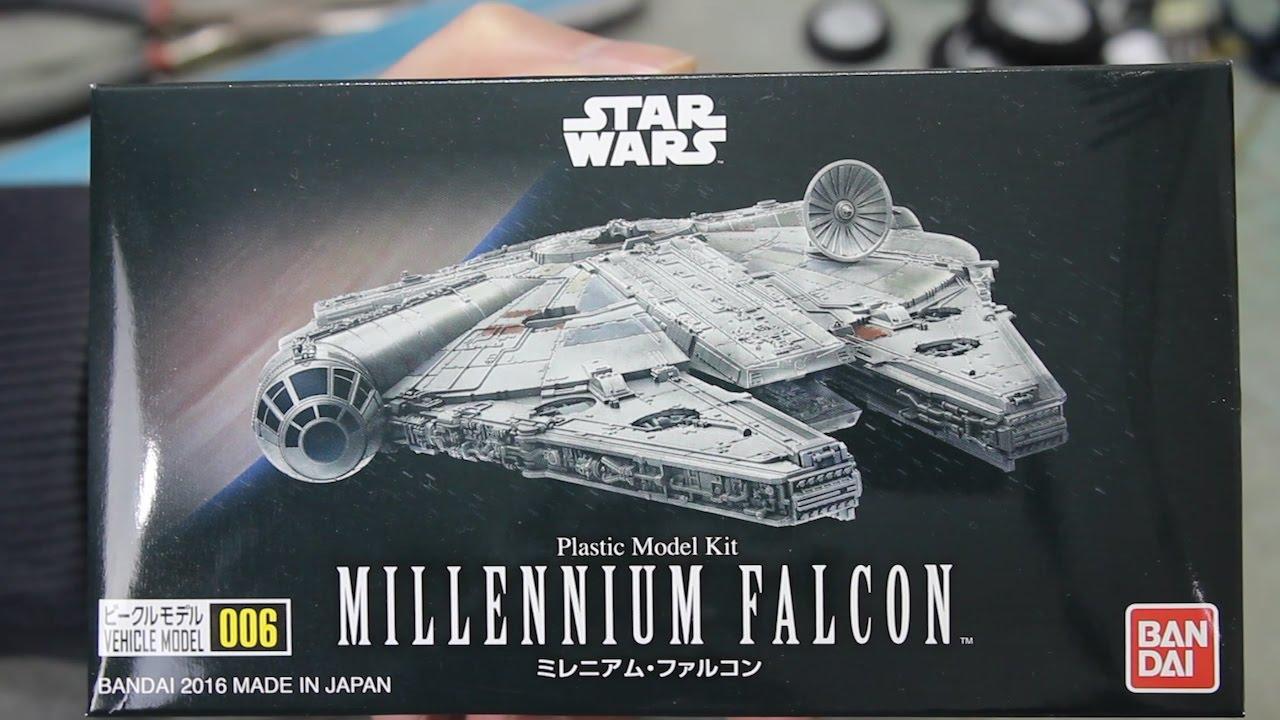 Story Of Bandai Vehicle Model 006 Star Wars Millennium Falcon Plastic Model Kit