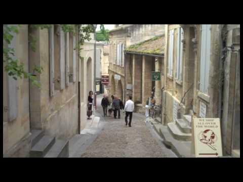 HD Saint Emilion,  Bordeaux wine region, France. A quiet Visit