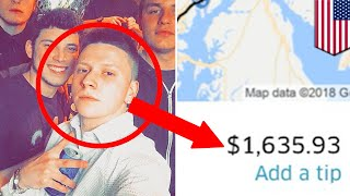 Drunk takes $1,600 Uber ride home to New Jersey - TomoNews