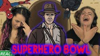 TO THE DEATH! | Girls React | SuperHero Bowl
