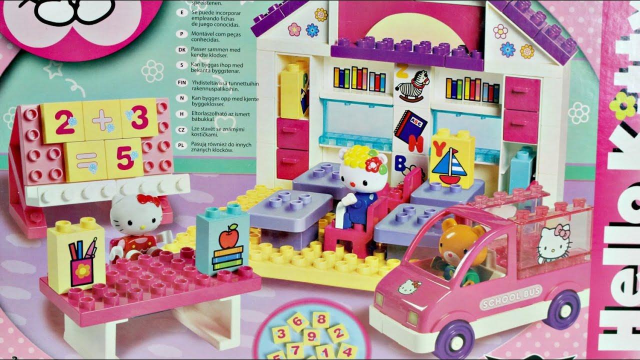 Big school play set szko a hello kitty klocki - Lego hello kitty maison ...