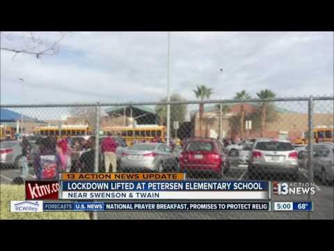 Lockdown lifted at Petersen Elementary School