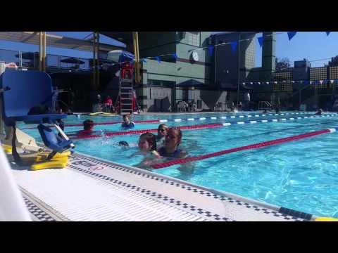 Santa monica swim class
