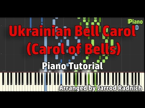 Ukrainian Bell Carol (Carol of Bells) - Jarrod Radnich [Piano Tutorial] | PianoHD
