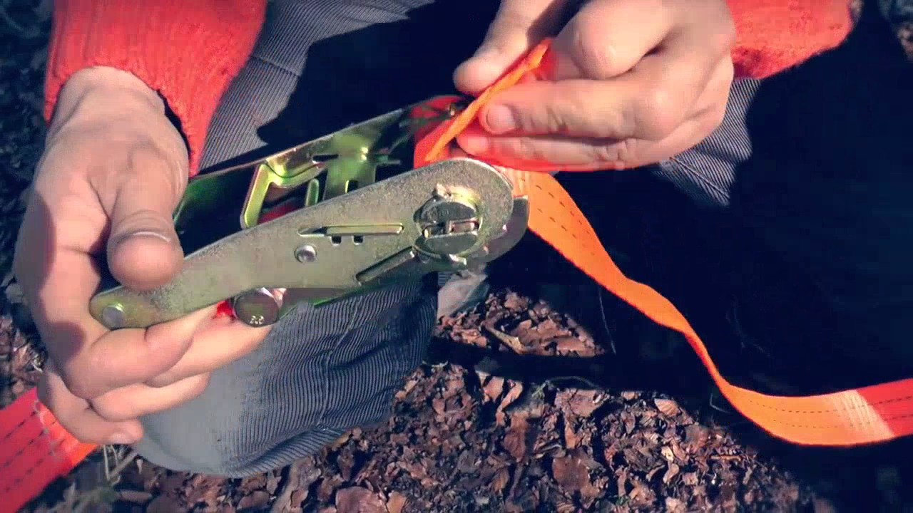 How To Use Ratchets and Tree Straps Tentsile Tree Tents & How To Use Ratchets and Tree Straps: Tentsile Tree Tents - YouTube