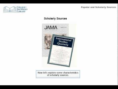Scholarly Journals, Trade Journals and Popular Magazines: What are the Differences?