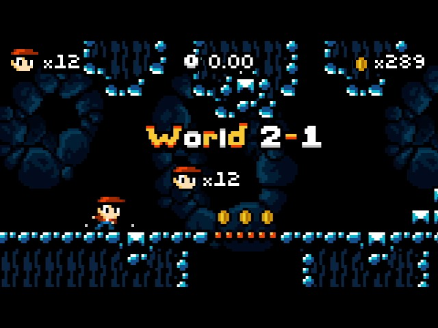 Kid Tripp (PS4/PSVITA/Switch) World 2 Perfect (Running, All Coins, No Lives Lost)