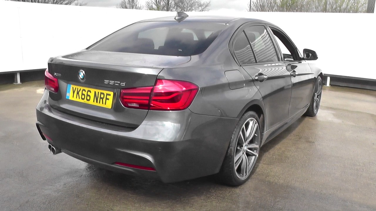 bmw 3 series 330d xdrive m sport 4dr step auto u26957 youtube. Black Bedroom Furniture Sets. Home Design Ideas